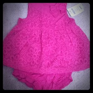 New 2 piece Gymboree Dress and Diaper cover 18-24M